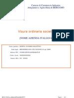 U_Visura Camerale Ordinaria CCIAA-FAC-SIMILE