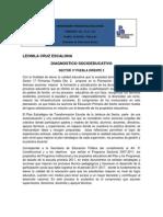 Cruz Escalona Leonila Diagnostico Socieducativo-De Sector 17
