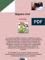 Registro Civil, Importancia, Funciones.