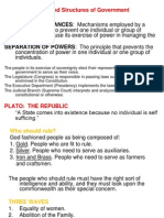 Pol 2 (Forms and Structures of Government)