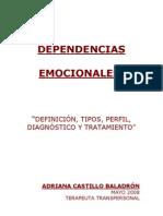 Dependencias Emocionales e Infidelidad