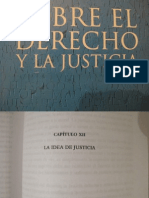 Sobre El Derecho y La Justicia