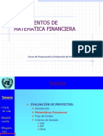 Fundamentos Matematica Financiera, PPT