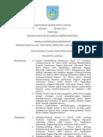 Rancangan Qanun Kota Langsa Ttg Badan Usaha Milik Daerah Kepelabuhanan 2012