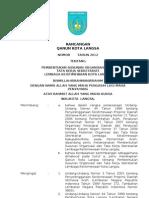 Rancangan Qanun Kota Langsa Ttg Sekretariat Lembaga Keistimewaan Kab_kota