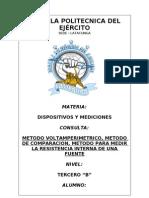 CONSULTA (METODO VOLTAMPERIMETRICO)