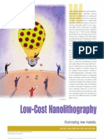 Low Cost Nanolithography