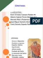 Formación Cristiana. Jeremías (1)