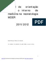 Rotina Neonatologia MDER