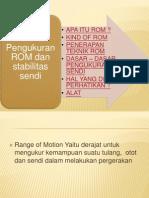 8. Pengukuran ROM