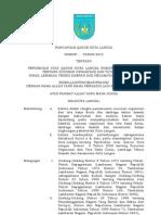 Rancangan Qanun Perubahan Sotk Nomor 4 Tahun 2008