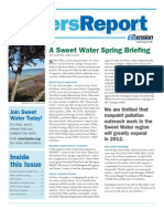 Rivers Report Spring 2012