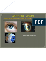 Artificial Vision Technical Ppt