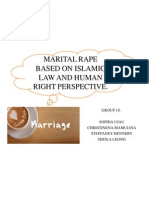 Assignment 1 - Marital Rape