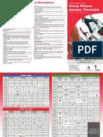 2GF Timetable Brochure Autumn May 11