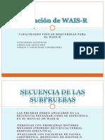 Aplicación de WAIS-R
