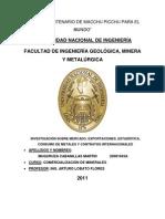 Analisis de Mercado de Los Metales