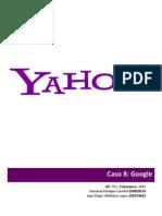 Caso 9 - Yahoo