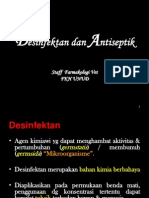 Desinfektan & Antiseptik. May 2012