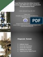 Target Menuju Kota-kota Bebas Kumuh diIndonesia pada 2020