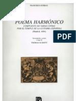Francisco Guerau, Poema Harmónico, 1694