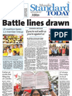Manila Standard Today -- Tuesday (October 2, 2012) issue