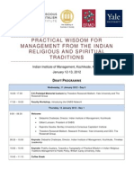Practical Wisdom for Mgmt From Indian Traditions