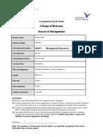 Final Management Assignment