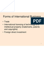 Tariff and No Tariff Barriers in international trade