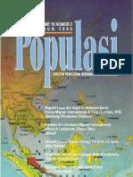 Populasi Volume 10, Nomor 2, Tahun 1999