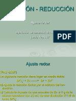 Oxidacion Reduccion Ajuste Redox