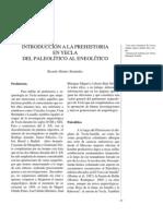 Introducción a la Prehistoria en Yecla. Del Paleolítico al Eneolítico.