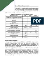Balance Des Paiements TD