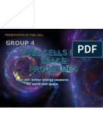 Fuel Cells for Space