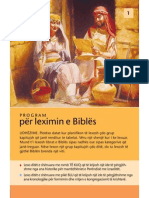 Program per leximin e Bibles