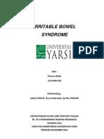 Referat Irritable bowel syndrome