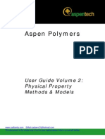 Aspen Polymers Vol2 V7 Tutorial