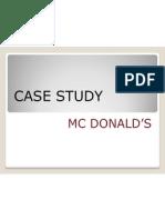 Mc d's