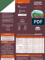 Folleto Programa Deportes 2012-13