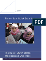 The rule of law in Yemen