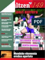 149 iraultzen (aldizkari sindikala, revista sindical, journal syndical)