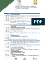 Programa de Conferencias de Cambio Climatico 05-Nov-2012