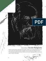 Buber's Secular Religiosity