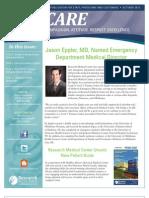 CARE Newsletter - October 2012