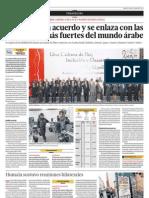 El Perú firma acuerdo y se enlaza con las economías más fuertes del mundo árabe