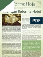 Jornal Reforma Hoje - 1ª Edição - Setembro de 2012