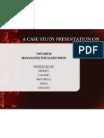 Novartis Case Presentation - VisualBee 1