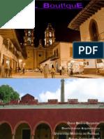 Proyecto Diseño Interiores Hotel Boutique Mexicano Investigación Previa