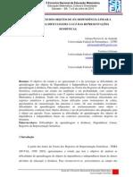 APRENDIZAGEM DOS OBJETOS DE (IN) DEPENDÊNCIA LINEAR A DISTÂNCIA
