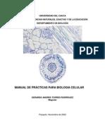 Manual de Biologia Celular 2012